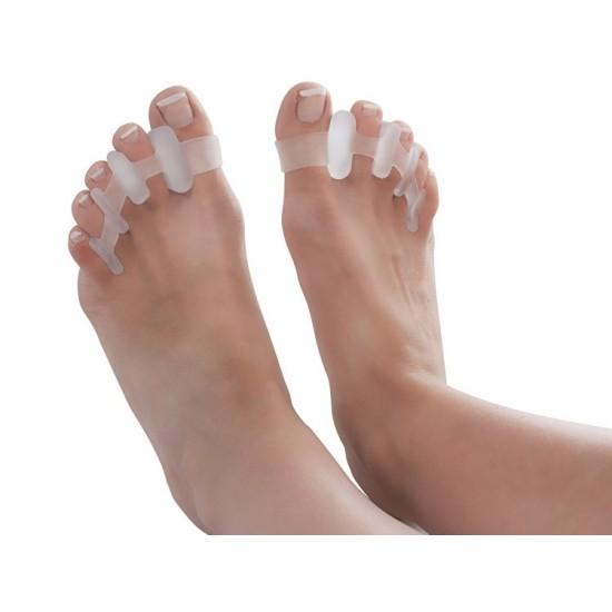 Separator palców u stopy zachodzących na siebie żelowy T008-P