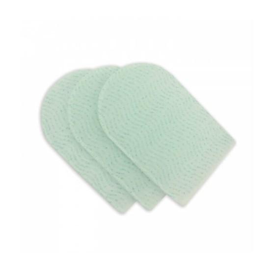 Myjki rękawice nasączone środkiem do mycia ciała, jednorazowe- 10szt