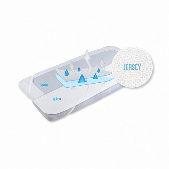 Matex Podkład JERSEY wodoszczelny oddychający i antyalergiczny 4 gumy w rogach