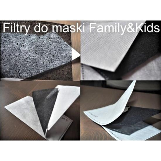 Filtr  węglowy do maski  FAMILY - zapas  wymienny 2 szt.