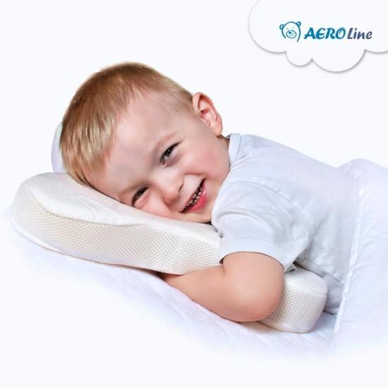 Medyczna poduszka  dla dzieci do spania na brzuchu BUTTERFLY