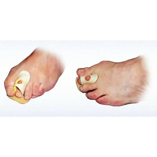Opaska skórzana na palce młoteczkowate z otworem