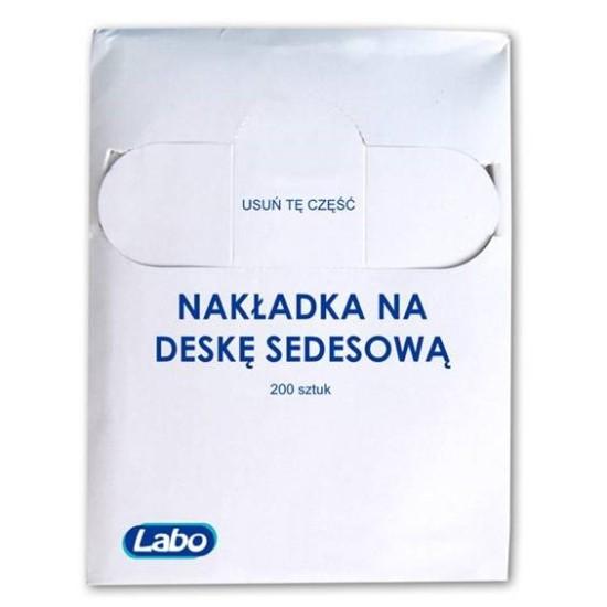 Higieniczna nakładki na deskę sedesową - zapas, karton 200 szt
